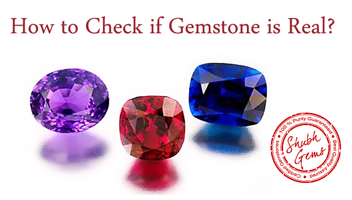 How to Check if gemstones is real